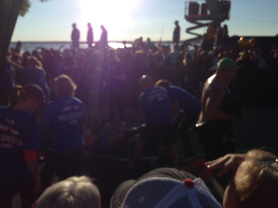 Will Ironman Wisconsin out of water 2015
